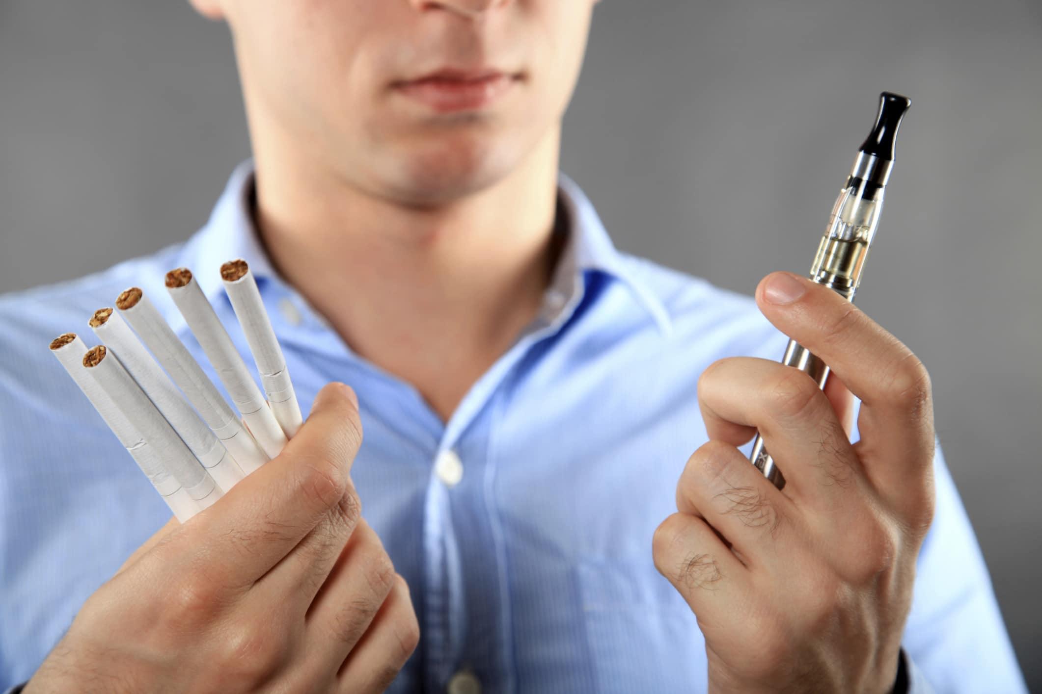 La cigarette électronique est moins nocive que la classique